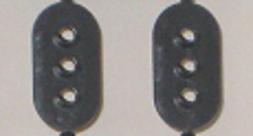 HO scale Three Aspect Target - 2 pcs