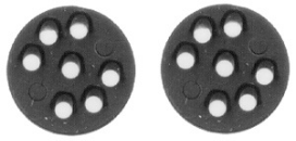 HO scale Position Lights 2 pcs - PRR