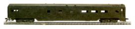HO SS Undecorated Passenger Cars