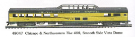 HO SS Chicago & Northwestern Passgener Cars