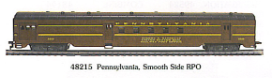 HO SS Pennsylvania Passenger Cars - Tuscan Red
