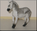 Hand Painted G Scale Animal - Zebra