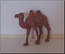 Hand Painted G Scale Animal - Camel