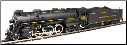 HO 4-6-4 Hudson Toronto, Hamilton & Buffalo Steam Locomotive DCC & Sound