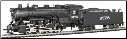 HO Scale 0-8-0 Shifter Mopac Steam Locomotive