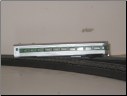N Scale Burlington Northern Observation Car