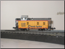N Scale 3 Window Chessie System Caboose