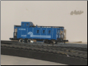 N Scale 3 Window Conrail Caboose