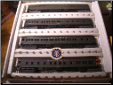HO IHC Presidental Series 4-Car Train Set - Warren G. Harding