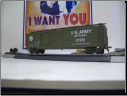HO Scale U.S. Army Box Car #61269