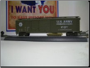 HO Scale U.S. Army Box Car #61277