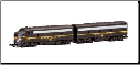 N Scale Pennsylvania F7 A & B Units - Spectrum Series
