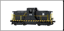 N Scale DCC-Equipped GE 44 Ton Switcher