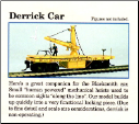 HO Scale Derrick Car - Kit