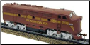 HO F3-A Pennsylvania DC Diesel Locomotive