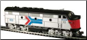 HO F3-A Amtrak DC Diesel Locomotive