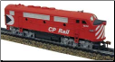 HO F3-A Canadian Pacific DC Diesel Locomotive