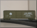 HO Scale U.S. Army Box Car #A-310-43