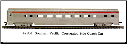 HO CS Southern Pacific - Silver/Red Stripe