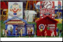 HO Scale Carnival Concession Games Kit