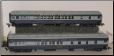 HO HW Baltimore & Ohio Sleeper Cars - National Limited