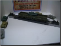 HO Scale U.S. Army Gondola with Tank