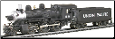 HO 2-6-0 Mogul Union Pacific DCC-Ready Steam Locomotives with Coal Tender