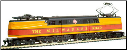HO GG-1 Milwaukee Road DCC On-Board Locomotive