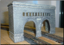 N Scale Double Tunnel Portal