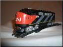 HO F3-A Canadian National DCC & Sound Diesel Locomotive