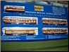 Royal American Show 4-Car Train Set HO Scale-Modelers Version