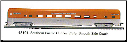 HO SS Southern Pacific Passenger Cars - Golden State