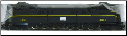 HO Scale GG-1 Penn Central #4891(Black) DCC On-Board
