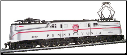 HO GG-1 Pennsylvania Silver Congressional #4880 - DCC On-Board