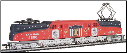 HO scale GG-1 Conrail Spirit of 76 Locomotive #4800 DCC On-Board