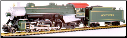 HO Scale 4-6-2 Pacific Steam Locomotives