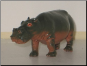 Hand Painted G Scale Animal - Hippo