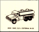 4025 GMC 2.5 Ton Truck with Tankard