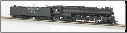 HO Northern 4-8-4 & Tender (Operating Headlight) DCC Equipped