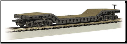 N Scale 52' Center-Depressed Flat Car with No Load