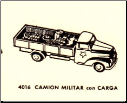4016 Military Flat-Bed with Cargo Truck