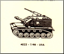 4033 T-98 Armored Vehicle - USA