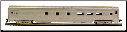 HO CS Undecorated Passenger Cars