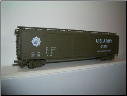 HO Scale U.S. Army Box Car #61245