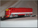 HO F3-A Katy Texas DC Diesel Locomotive
