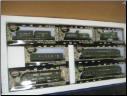 HO Model Power US Army F3-A Locomotive & 6 Cars