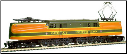HO scale GG-1 Great Northern DCC On Board Locomotive