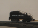 HO Canadian Pacific Slope Back Coal Tender