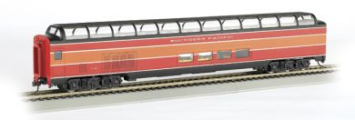 ho ss full dome sp daylight passenger car with lighted interior. Black Bedroom Furniture Sets. Home Design Ideas
