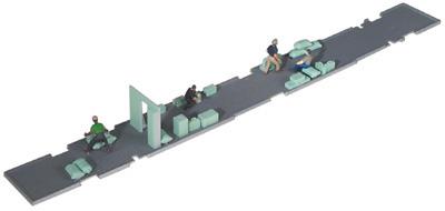 ho scale passenger car interior smooth side and corrugated side cars baggage. Black Bedroom Furniture Sets. Home Design Ideas